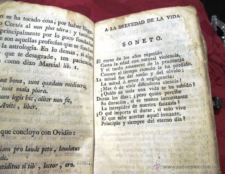 Libros antiguos: LUNARIO Y PRONOSTICO PERPETUO GENERAL Y PARTICULAR COMPUESTO POR GERONIMO CORTES - Foto 5 - 50546493