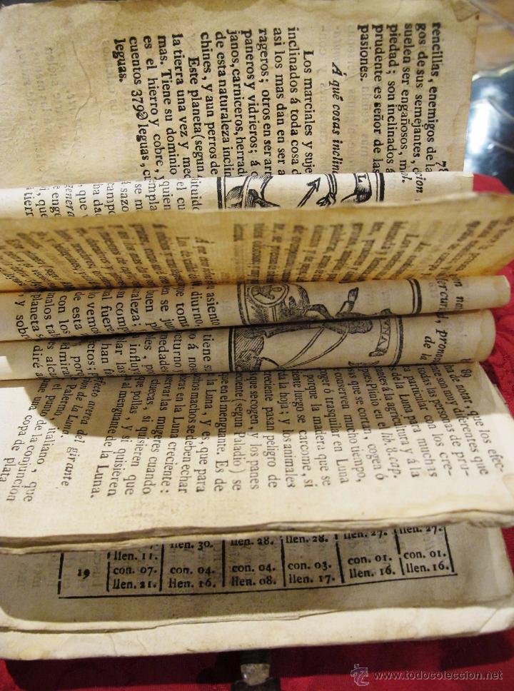 Libros antiguos: LUNARIO Y PRONOSTICO PERPETUO GENERAL Y PARTICULAR COMPUESTO POR GERONIMO CORTES - Foto 6 - 50546493