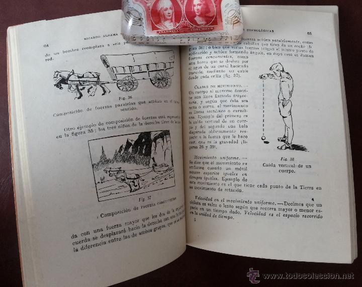 Libros antiguos: LAS VIDAS DE LA TIERRA, RICARDO ALDAMA. EDITORIAL BARNA. CIENCIAS COSMOLÓGICAS. SEGUNDO CURSO, 7ª ED - Foto 4 - 50684974