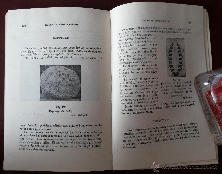 Libros antiguos: LAS VIDAS DE LA TIERRA, RICARDO ALDAMA. EDITORIAL BARNA. CIENCIAS COSMOLÓGICAS. SEGUNDO CURSO, 7ª ED - Foto 5 - 50684974