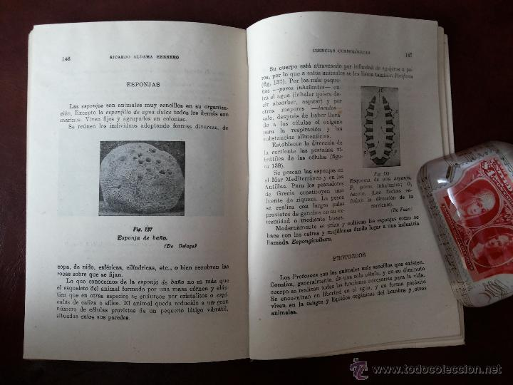 Libros antiguos: LAS VIDAS DE LA TIERRA, RICARDO ALDAMA. EDITORIAL BARNA. CIENCIAS COSMOLÓGICAS. SEGUNDO CURSO, 7ª ED - Foto 6 - 50684974