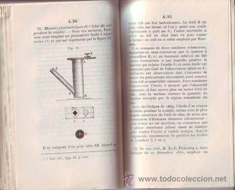 VARIAS OBRAS EN FRANCÉS SOBRE ASTRONOMIA (ECLIPSES DE SOL) (Libros Antiguos, Raros y Curiosos - Ciencias, Manuales y Oficios - Astronomía)