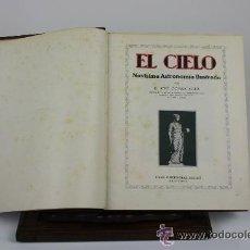Libros antiguos: 7038 - EL CIELO. NOVISIMA ASTRONOMIA ILUSTRADA. JOSE COMAS SOLÁ. EDIT. SEGUI. S/F. Lote 52494802