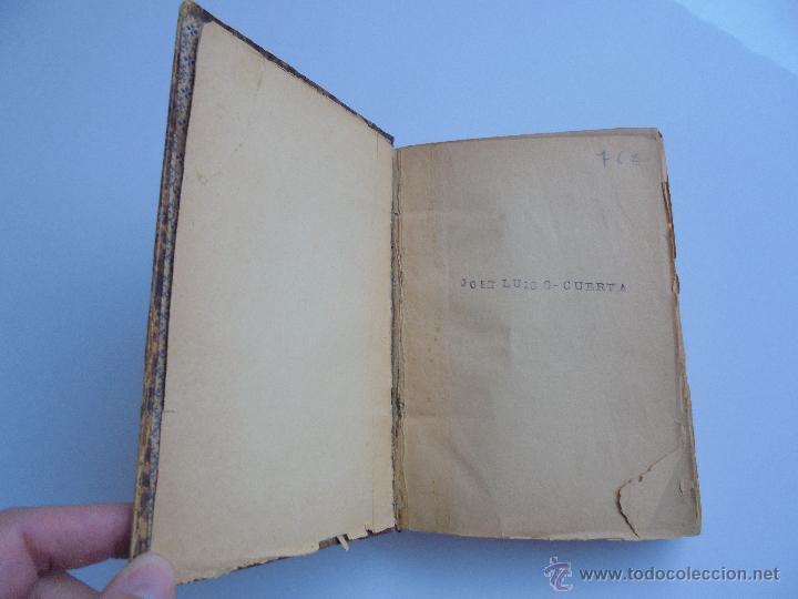 Libros antiguos: LUNARIO PERPETUO PRONOSTICO GENERAL Y PARTICULAR DEL REINO Y PROVINCIAS. CORTES. 1903?. VER FOTOS. - Foto 8 - 52590613