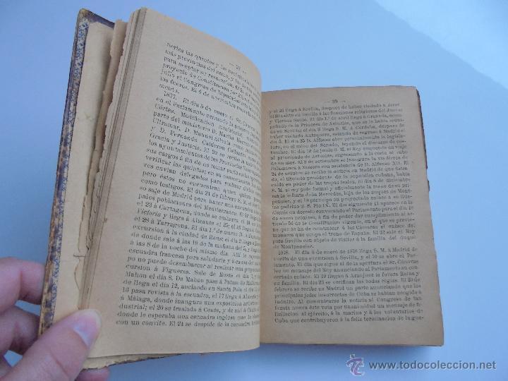 Libros antiguos: LUNARIO PERPETUO PRONOSTICO GENERAL Y PARTICULAR DEL REINO Y PROVINCIAS. CORTES. 1903?. VER FOTOS. - Foto 11 - 52590613