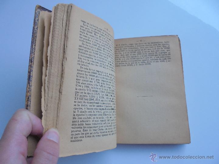 Libros antiguos: LUNARIO PERPETUO PRONOSTICO GENERAL Y PARTICULAR DEL REINO Y PROVINCIAS. CORTES. 1903?. VER FOTOS. - Foto 12 - 52590613