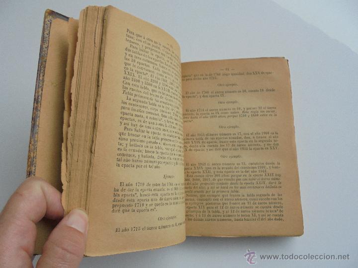 Libros antiguos: LUNARIO PERPETUO PRONOSTICO GENERAL Y PARTICULAR DEL REINO Y PROVINCIAS. CORTES. 1903?. VER FOTOS. - Foto 13 - 52590613