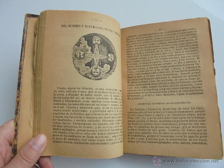 Libros antiguos: LUNARIO PERPETUO PRONOSTICO GENERAL Y PARTICULAR DEL REINO Y PROVINCIAS. CORTES. 1903?. VER FOTOS. - Foto 15 - 52590613