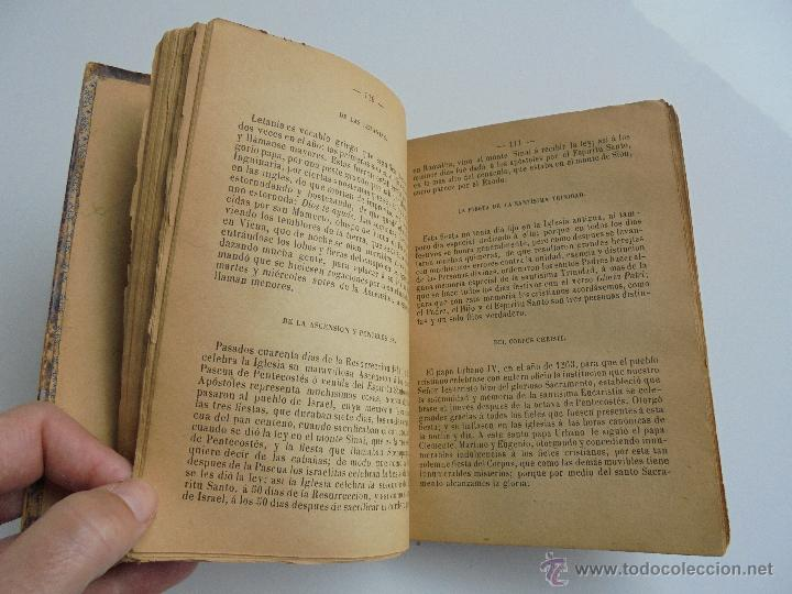 Libros antiguos: LUNARIO PERPETUO PRONOSTICO GENERAL Y PARTICULAR DEL REINO Y PROVINCIAS. CORTES. 1903?. VER FOTOS. - Foto 16 - 52590613