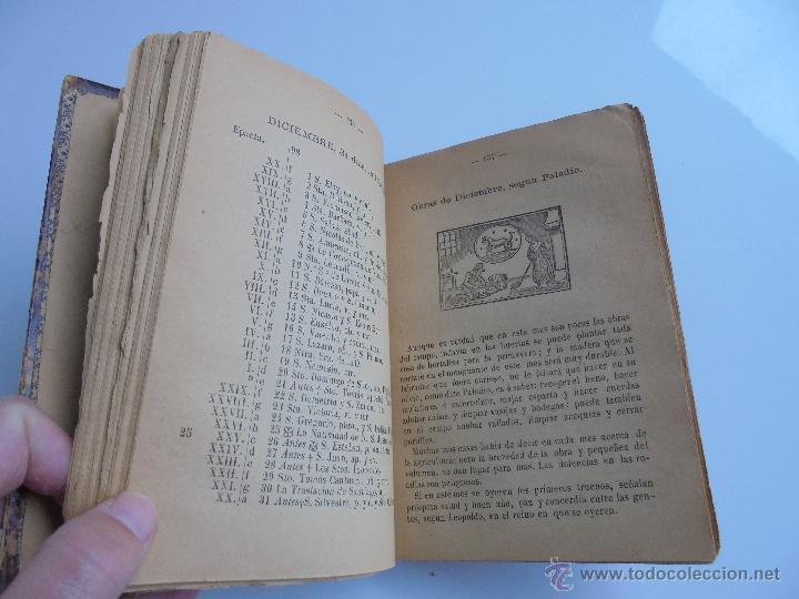 Libros antiguos: LUNARIO PERPETUO PRONOSTICO GENERAL Y PARTICULAR DEL REINO Y PROVINCIAS. CORTES. 1903?. VER FOTOS. - Foto 17 - 52590613