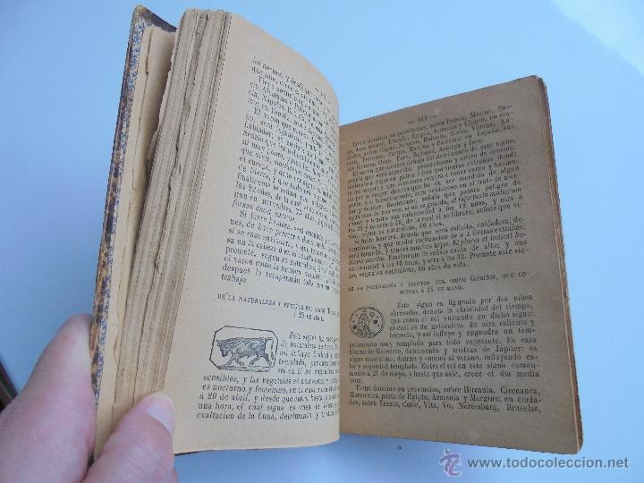 Libros antiguos: LUNARIO PERPETUO PRONOSTICO GENERAL Y PARTICULAR DEL REINO Y PROVINCIAS. CORTES. 1903?. VER FOTOS. - Foto 18 - 52590613