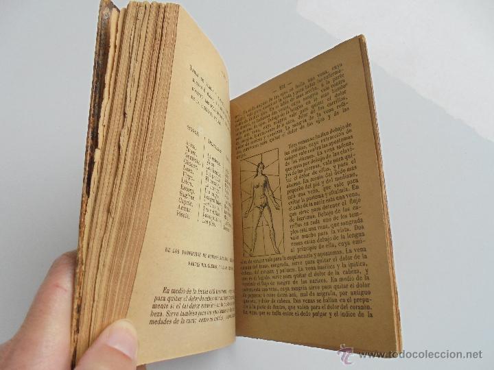 Libros antiguos: LUNARIO PERPETUO PRONOSTICO GENERAL Y PARTICULAR DEL REINO Y PROVINCIAS. CORTES. 1903?. VER FOTOS. - Foto 19 - 52590613