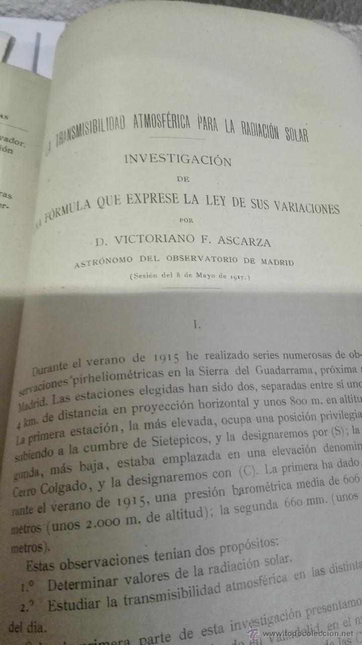 Libros antiguos: CONGRESO DE SEVILLA TOMO IV, ASTRONOMÍA Y FÍSICA DEL GLOBO - Foto 3 - 52953783