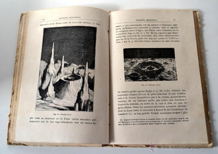 Libros antiguos: GEOGRAFÍA ASTRONÓMICA de VÉLEZ DE ARAGÓN * SATURNINO CALLEJA 1896 - Foto 3 - 54396854