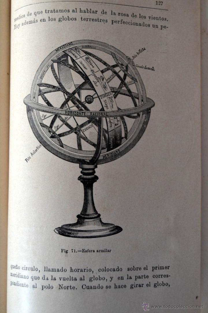 Libros antiguos: GEOGRAFÍA ASTRONÓMICA de VÉLEZ DE ARAGÓN * SATURNINO CALLEJA 1896 - Foto 4 - 54396854