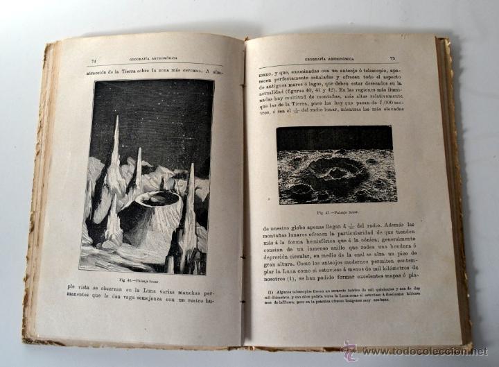 Libros antiguos: GEOGRAFÍA ASTRONÓMICA de VÉLEZ DE ARAGÓN * SATURNINO CALLEJA 1896 - Foto 5 - 54396854
