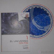 Libros antiguos: EL UNIVERSO SIN FIN: ORIGEN DEL UNIVERSO., ESPACIO-TIEMPO. PLANISFERIO. Lote 54530996
