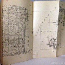 Libros antiguos: MEMORIA SOBRE EL ECLIPSE TOTAL DE SOL DEL DIA 30 DE AGOSTO DE 1905 (MAPAS PLEGADOS LITOGRAFIADOS COL. Lote 55588701