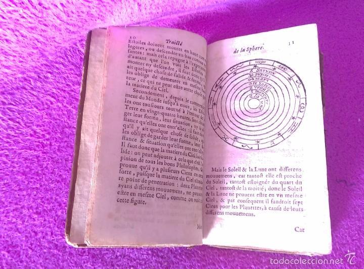 Libros antiguos: LES PRINCIPES DE LA SPHERE DE GEOGRAPHIE ET D'ASTRONOMIE + INTRO HISTOIRE 1661 - Foto 3 - 56496992