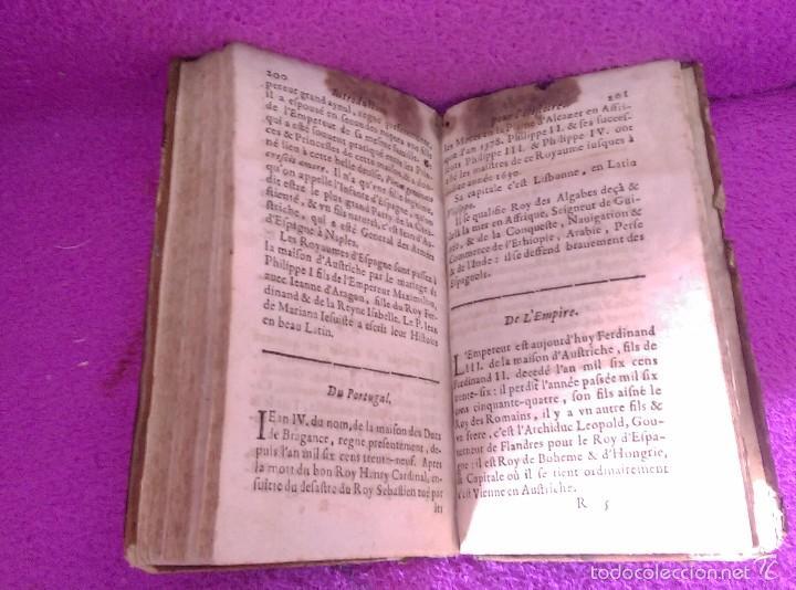 Libros antiguos: LES PRINCIPES DE LA SPHERE DE GEOGRAPHIE ET D'ASTRONOMIE + INTRO HISTOIRE 1661 - Foto 5 - 56496992
