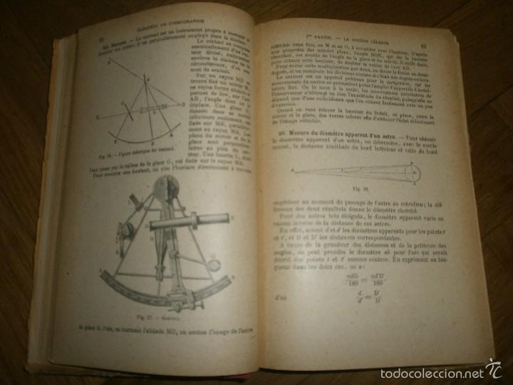 Libros antiguos: ÉLEMENTS DE COSMOGRAPHIE PAR F. J. COURS DE MATHÉMATIQUES ÉLÉMENTAIRES (1920) LIBRO EN FRANCÉS - Foto 3 - 57833214