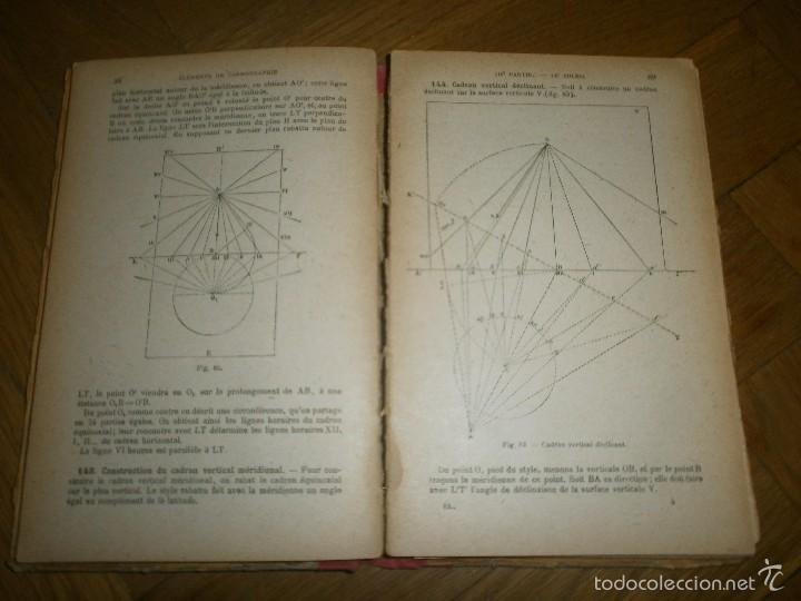 Libros antiguos: ÉLEMENTS DE COSMOGRAPHIE PAR F. J. COURS DE MATHÉMATIQUES ÉLÉMENTAIRES (1920) LIBRO EN FRANCÉS - Foto 5 - 57833214