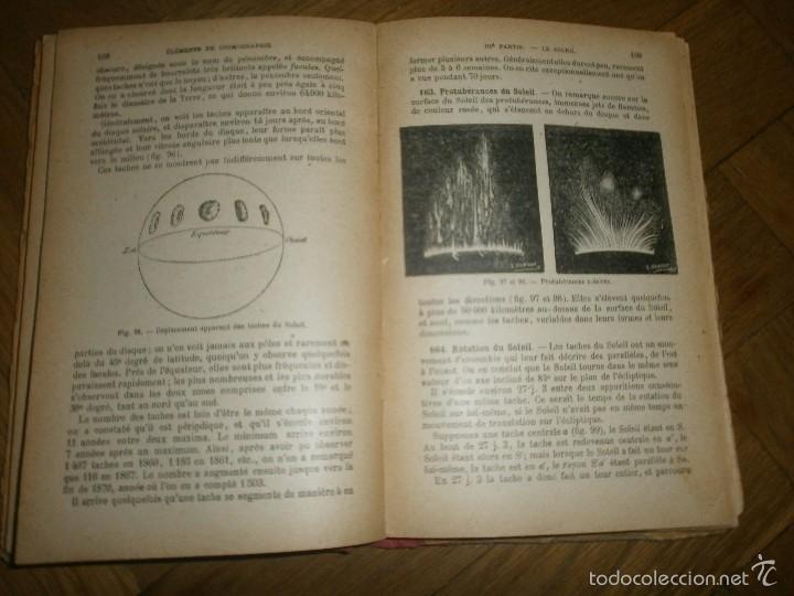 Libros antiguos: ÉLEMENTS DE COSMOGRAPHIE PAR F. J. COURS DE MATHÉMATIQUES ÉLÉMENTAIRES (1920) LIBRO EN FRANCÉS - Foto 6 - 57833214