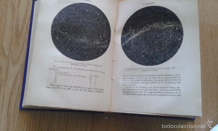 Libros antiguos: LAS ESTRELLAS y curiosidades del cielo - camilo flammarion - tomo I -madrid 1883 - Foto 4 - 58067987