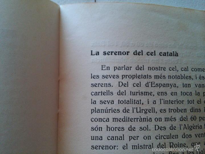 Libros antiguos: EL CEL DE CATALUNYA - ANY. 1935 - ATENEU BARCELONÈS - EDUARD FONTSERÈ - Foto 8 - 58133830