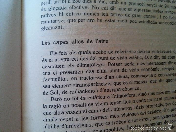 Libros antiguos: EL CEL DE CATALUNYA - ANY. 1935 - ATENEU BARCELONÈS - EDUARD FONTSERÈ - Foto 9 - 58133830