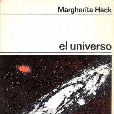 Libros antiguos: EL UNIVERSO. MARGHERITA HACK. LABOR.. Lote 58549140