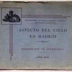 Libros antiguos: ASPECTO DEL CIELO EN MADRID. Lote 59993691