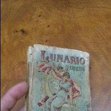 Libros antiguos: LUNARIO PERPETUO. S. CALLEJA. MADRID. CERCA 1900.. Lote 60667091