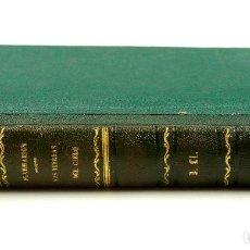 Libros antiguos: LAS TIERRAS DEL CIELO, ASTRONOMIA POPULAR, CAMILO FLAMMARION, 1877. 14X20 CM. VER FOTOS.. Lote 62379340