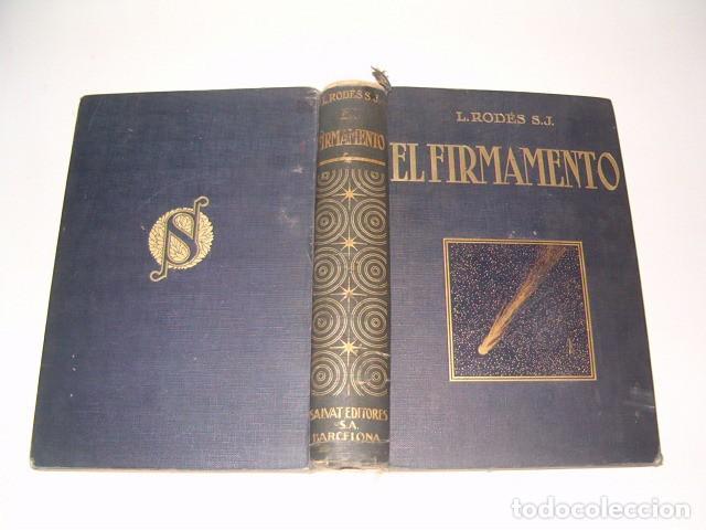 LUIS RODÉS, S. J. EL FIRMAMENTO. RM77277. (Libros Antiguos, Raros y Curiosos - Ciencias, Manuales y Oficios - Astronomía)