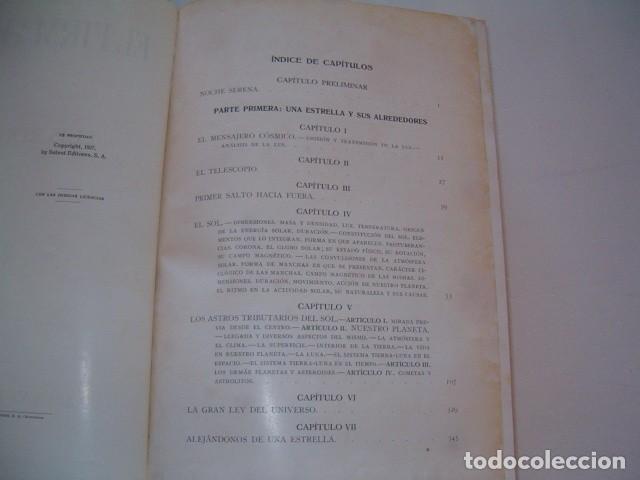 Libros antiguos: LUIS RODÉS, S. J. El Firmamento. RM77277. - Foto 3 - 64767191