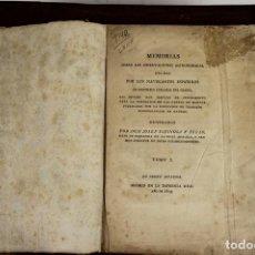 Libros antiguos: 4656 - MEMORIAS HECHAS POR LOS NAVEGANTES ESPAÑOLES. JOSEPH ESPINOSA. IMP. REAL.. Lote 43509148