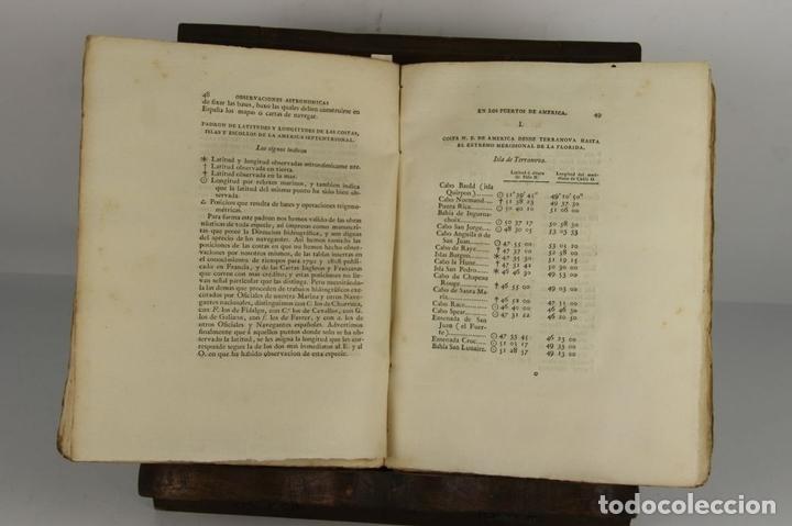 Libros antiguos: 4656 - MEMORIAS HECHAS POR LOS NAVEGANTES ESPAÑOLES. JOSEPH ESPINOSA. IMP. REAL. - Foto 3 - 43509148