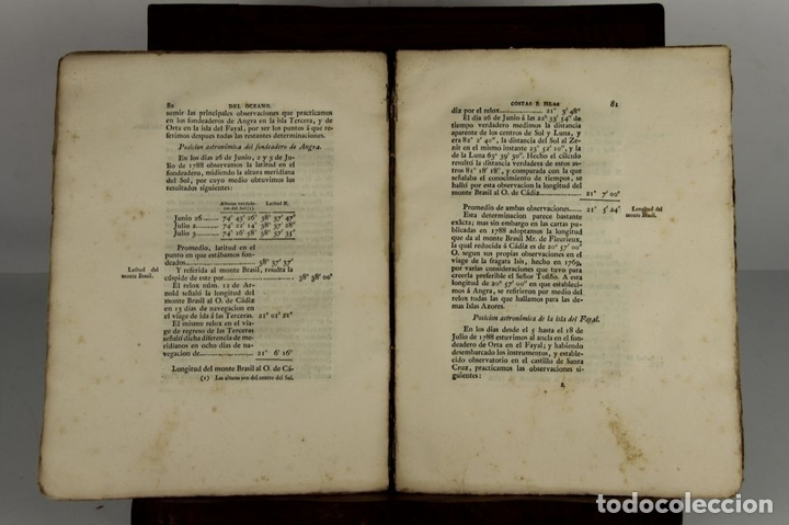 Libros antiguos: 4656 - MEMORIAS HECHAS POR LOS NAVEGANTES ESPAÑOLES. JOSEPH ESPINOSA. IMP. REAL. - Foto 4 - 43509148