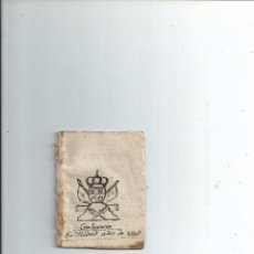 Libros antiguos: 1803 TABLAS ASTRONÓMICAS ... HORA Y MINUTO SALE Y SE PONE EL SOL EN MADRID - 10X7. Lote 67527109