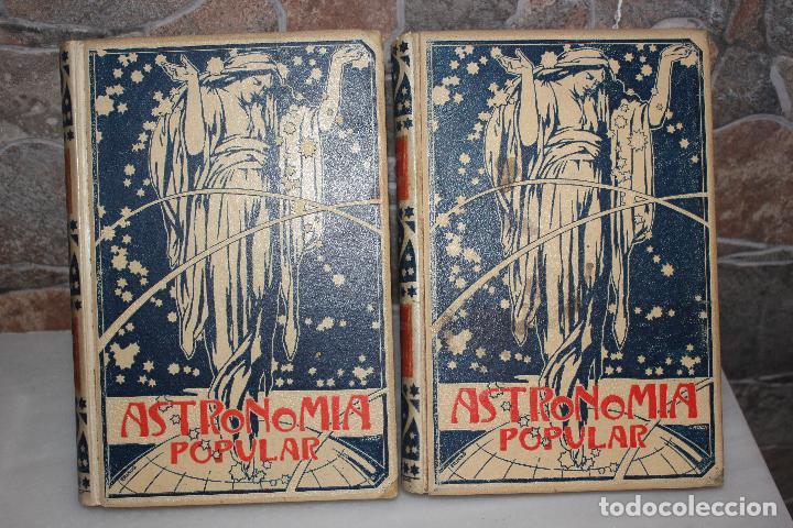 ASTRONOMIA POPULAR, DESCRIPCION GENERAL DEL CIELO, AUGUSTO ARCIMIS.2 TOMOS.MONTANER Y SIMON 1901 (Libros Antiguos, Raros y Curiosos - Ciencias, Manuales y Oficios - Astronomía)