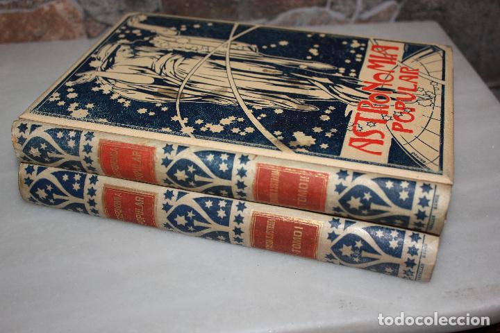 Libros antiguos: ASTRONOMIA POPULAR, DESCRIPCION GENERAL DEL CIELO, AUGUSTO ARCIMIS.2 TOMOS.MONTANER Y SIMON 1901 - Foto 2 - 69949253