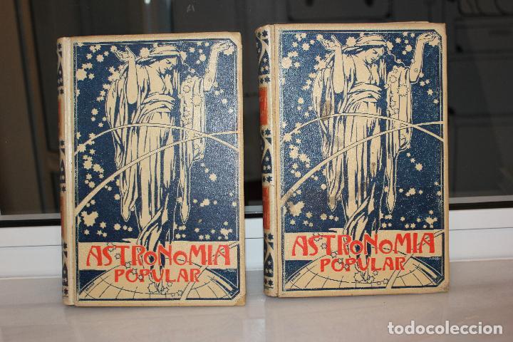 Libros antiguos: ASTRONOMIA POPULAR, DESCRIPCION GENERAL DEL CIELO, AUGUSTO ARCIMIS.2 TOMOS.MONTANER Y SIMON 1901 - Foto 3 - 69949253