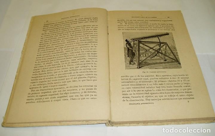 Libros antiguos: GEOGRAFÍA ASTRONÓMICA SATURNINO CALLEJA 1896 de VÉLEZ DE ARAGÓN SATURNINO CALLEJA 1896 - Foto 3 - 71393619