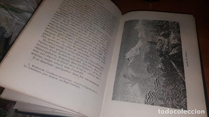 Libros antiguos: Les meteores de margolle y eclairs et tonnerre de fonvielle, hachette, paris 1875 y 1874 - Foto 5 - 71444883