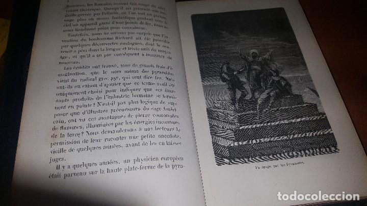 Libros antiguos: Les meteores de margolle y eclairs et tonnerre de fonvielle, hachette, paris 1875 y 1874 - Foto 8 - 71444883