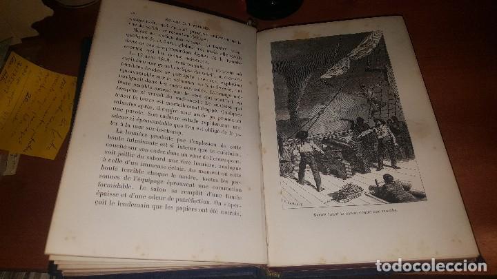 Libros antiguos: Les meteores de margolle y eclairs et tonnerre de fonvielle, hachette, paris 1875 y 1874 - Foto 10 - 71444883