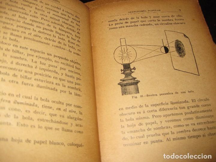 Libros antiguos: antiguo libro astronomia popular . c. Flammarion , tomo II . grabados ed f, granada años 20? - Foto 4 - 75739323
