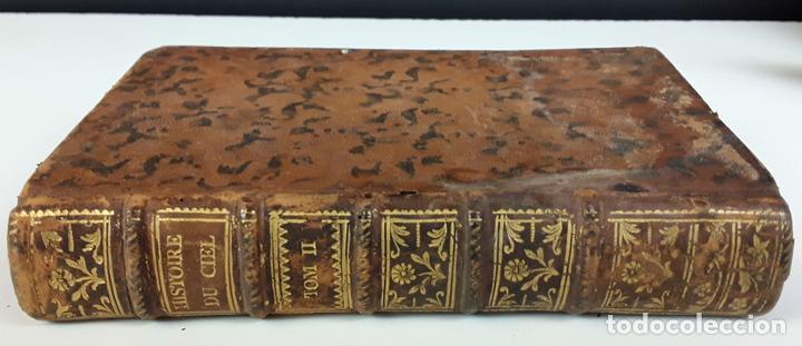 HISTOIRE DU CIEL. TOMO SECOND. VV. AA. EDIT. FRERES ESTIENNE. 1771. (Libros Antiguos, Raros y Curiosos - Ciencias, Manuales y Oficios - Astronomía)