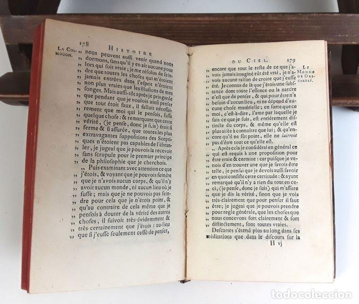 Libros antiguos: HISTOIRE DU CIEL. TOMO SECOND. VV. AA. EDIT. FRERES ESTIENNE. 1771. - Foto 5 - 79303361